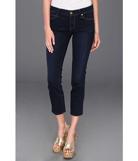 Blugi 7 For All Mankind - Slim Straight in Slim Illusion Dark Rich Blue - Slim Illusion Dark Rich Blue