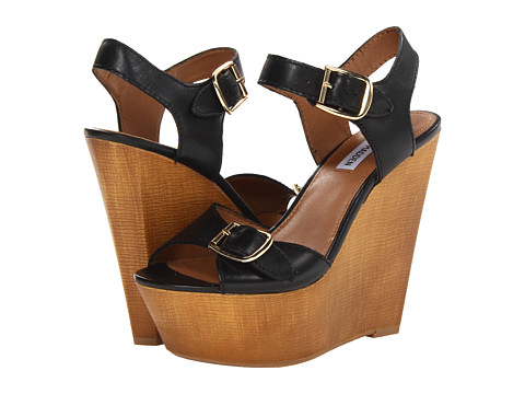 Pantofi Steve Madden - Breeann - Black Leather
