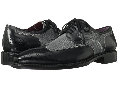 Pantofi Mezlan - Remo - Graphite/Grey