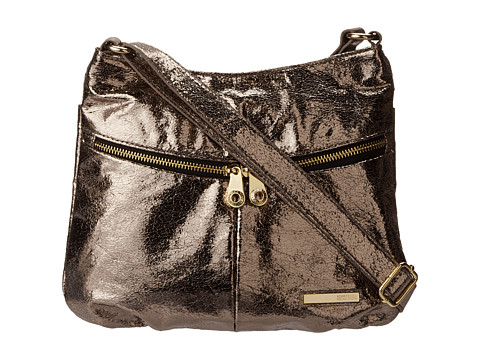 Genti de voiaj Kenneth Cole Reaction - Wooster Street Crossbody - Pewter