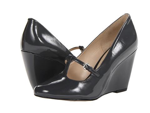 Pantofi Nine West - Zarig - Dark Grey Synthetic