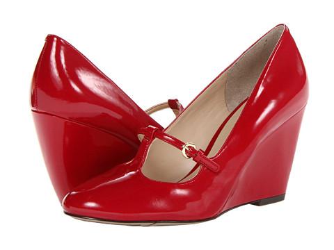 Pantofi Nine West - Zarig - Red Synthetic