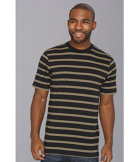 Tricouri Nike - Dri-FIT Yarn-Dye Stripe S/S Tee - Black