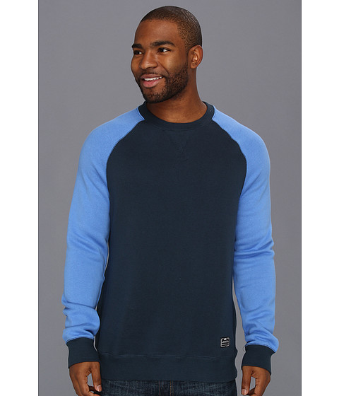 Bluze Nike - Foundation Crew Sweatshirt - Armory Navy/Distance Blue