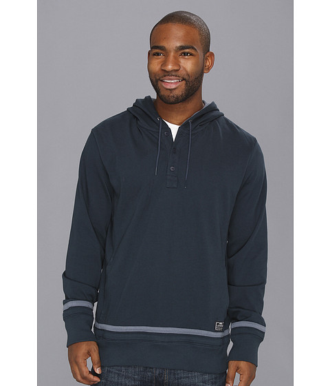 Bluze Nike - Henley Pullover Hoodie - Armory Navy/Armory Slate