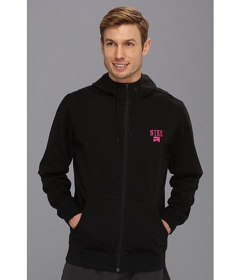 Bluze Nike - Northrup 3-Ply Full-Zip Hoodie - Black/Anthracite/Pink Foil/Pink Foil