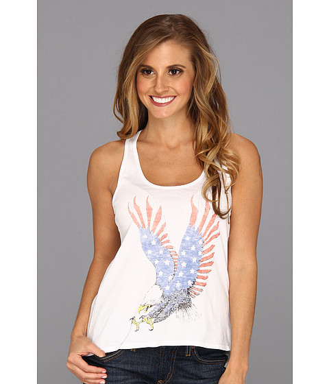 Bluze Lucky Brand - American Eagle Tank Top - Electric White