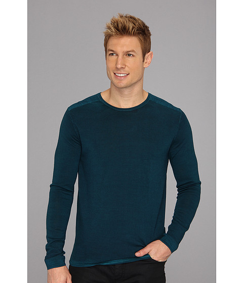 Bluze Elie Tahari - Magic Wash Nick Sweater J86XG503 - Teal Goblet