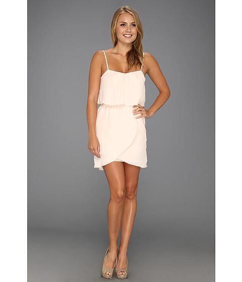 Rochii elegante: Rochie BCBGeneration - Flounce Back Dress - Pink Pearl