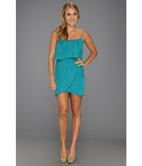 Rochii elegante: Rochie BCBGeneration - Flounce Back Dress - Teal