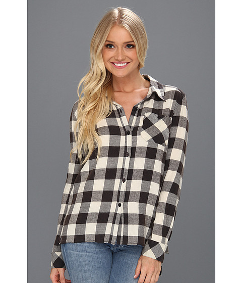 Tricouri Billabong - Need For Luv L/S Button Down - Off Black