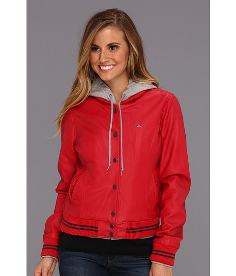Jachete Obey - Varsity Lover Jacket - Red