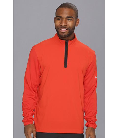 Bluze Nike - Half-Zip Banded Tech Cover Up - Gamma Orange