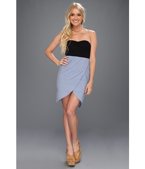 Rochii elegante: Rochie Hurley - Abagail Dress (Juniors) - Blue Chambray