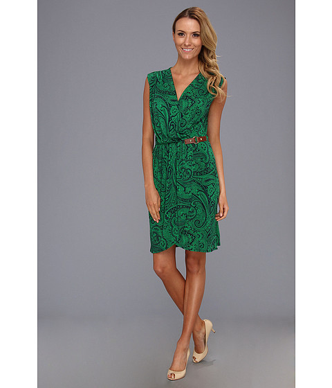 Rochii elegante: Rochie MICHAEL Michael Kors - Cap Sleeve Faux Wrap Dress - Gooseberry