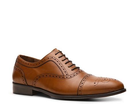 Pantofi Mike Konos - Cap Toe Oxford - Tan