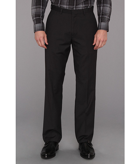 Pantaloni Calvin Klein - Dobby Solid Poly-Viscose Pant - Black
