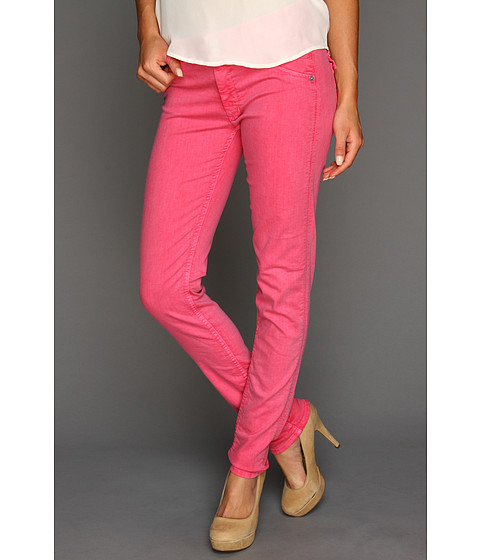 Blugi Hudson - Collin Mid Rise Skinny - Suede Rose