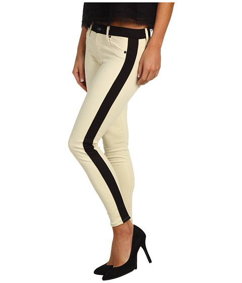 Blugi Hudson - Leeloo Super Skinny Crop - Bone