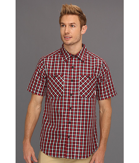 Camasi Merrell - Galvaston Gingham S/S Shirt - Rushmore Plaid