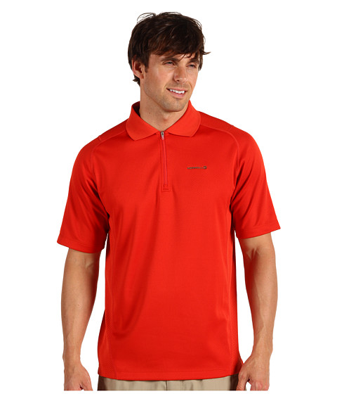 Tricouri Merrell - Acclivity S/S Zip Polo Shirt - Magma