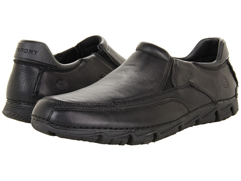 Pantofi Rockport - Rocsports Lite Slip On - Black