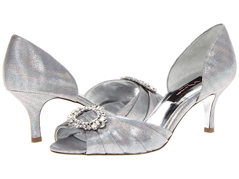 Pantofi Nina - Crystah - Silver