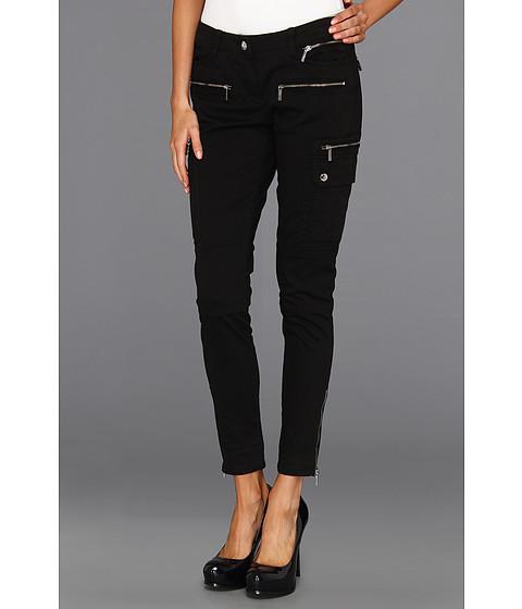 Pantaloni MICHAEL Michael Kors - Skinny Cargo w/ Zips - Black