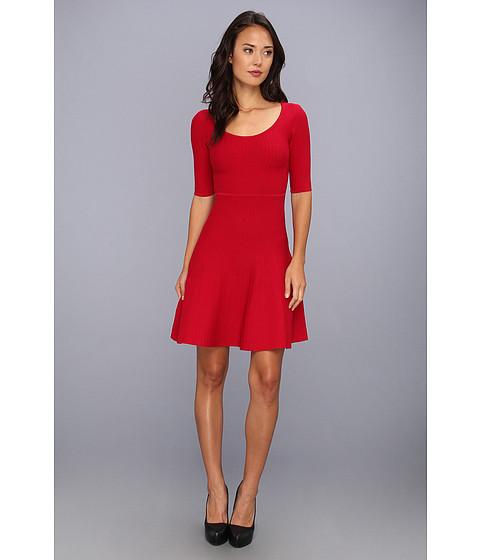 Rochii BCBGMAXAZRIA - Allie A-Line Dress - New Red