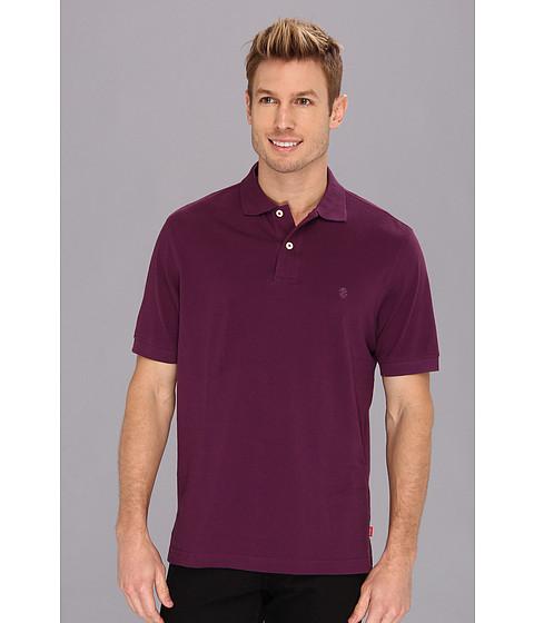 Tricouri IZOD - S/S Heritage Pique Polo - Plum Purple