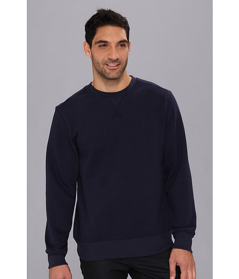 Bluze IZOD - Long Sleeve Sueded Fleece Crew - Midnight