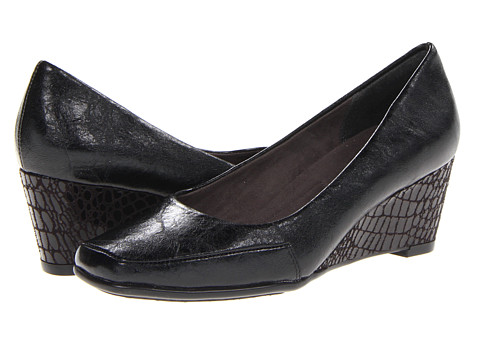Pantofi Aerosoles - Bare Claw - Black Croco