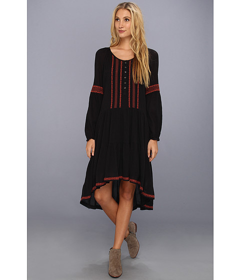 Rochii Free People - Light Heart Dress - Black Combo