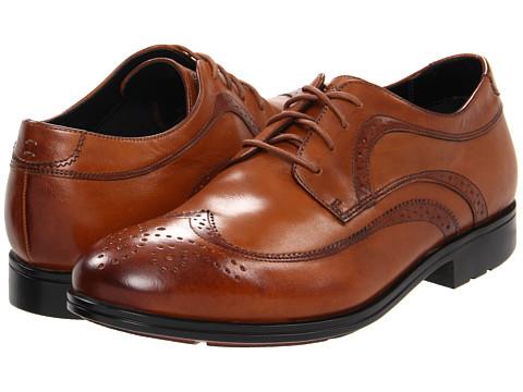 Pantofi Rockport - Fairwood 2 Wingtip - Light Tan Smooth