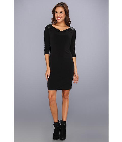 Rochii Calvin Klein - Shift Dress CD3A1E47 - Black/Black
