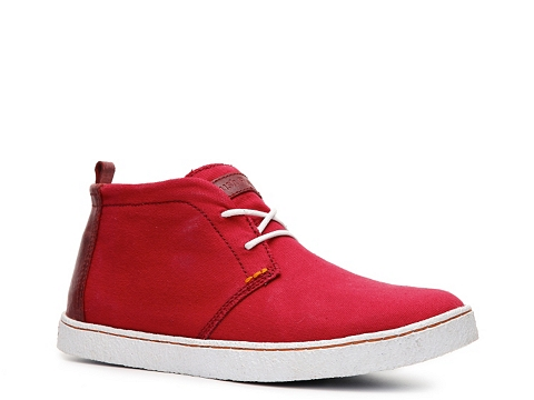 Ghete Hush Puppies - Locksmith Chukka Boot - Red