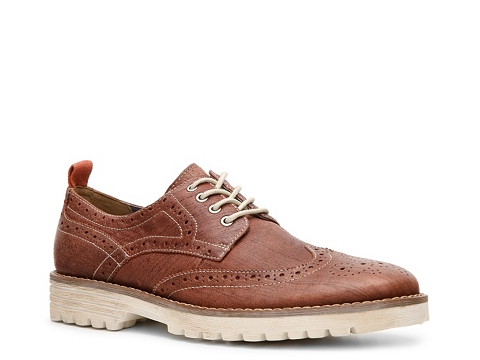 Pantofi Hush Puppies - Wingtip Oxford - Burnished Red