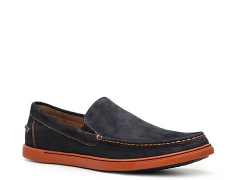 Pantofi Hush Puppies - Winns Loafer - Navy Blue/Orange