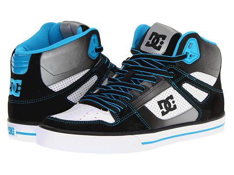 Adidasi DC - Spartan Hi WC SE - Black/Turquoise/White