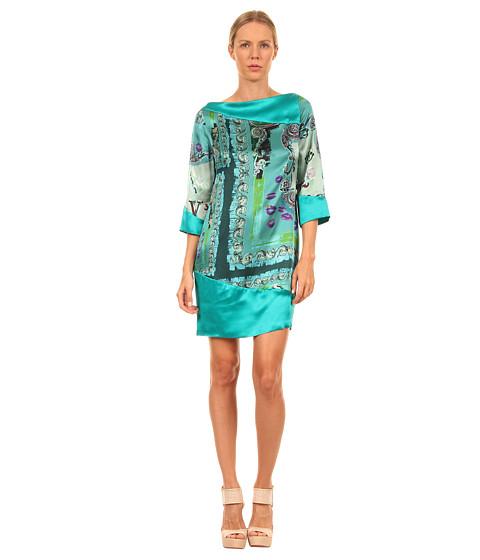 Rochii Versace - G32161 G601144 G7470 - Teal Print
