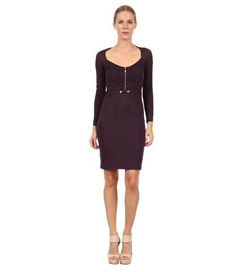 Rochii elegante: Rochie Versace - G32413 G600654 G1336 - Aubergine