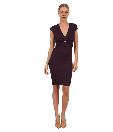 Rochii elegante: Rochie Versace - G32456 G600654 G1336 - Aubergine