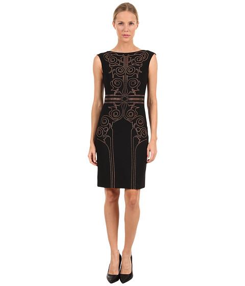 Rochii elegante: Rochie Versace - G32472 G600556 G2047 - Black/Gold
