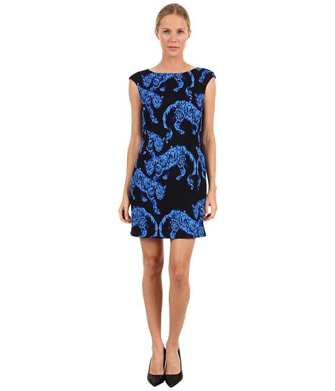 Rochii elegante: Rochie Versace - G32495 G601233 G7371 - Black/Blue