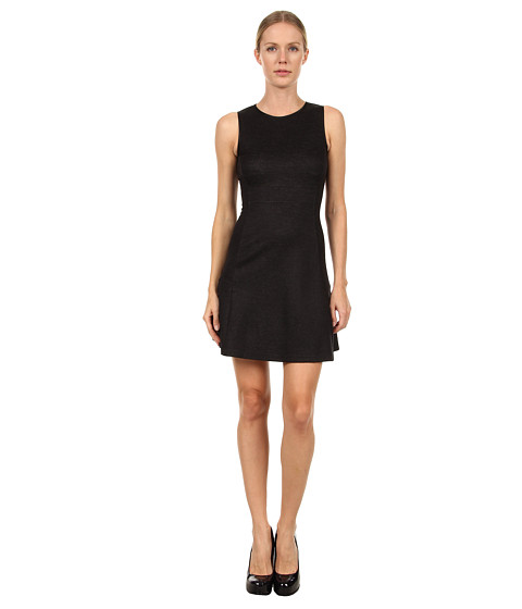 Rochii elegante: Rochie Theory - Nikay Jackson Dress - Dark Charcoal