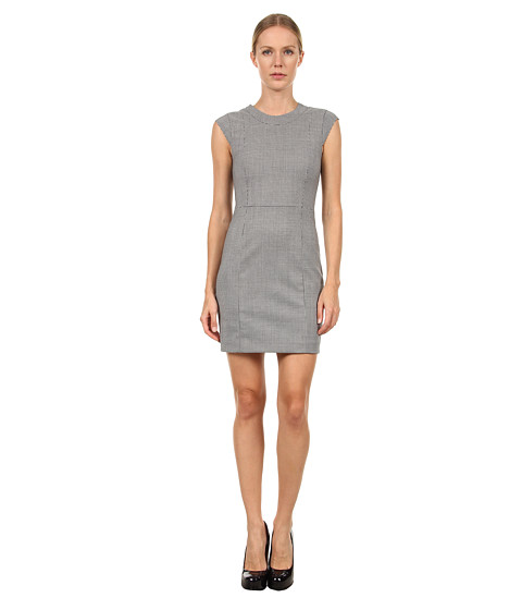 Rochii elegante: Rochie Theory - Orinthia C Dress - Black/White