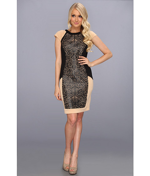 Rochii elegante: Rochie Brigitte Bailey - Gemma Dress - Black/Tan
