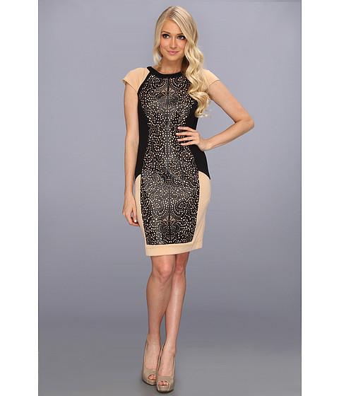 Rochii elegante: Rochie Brigitte Bailey - Gemma Dress - Black/Tan