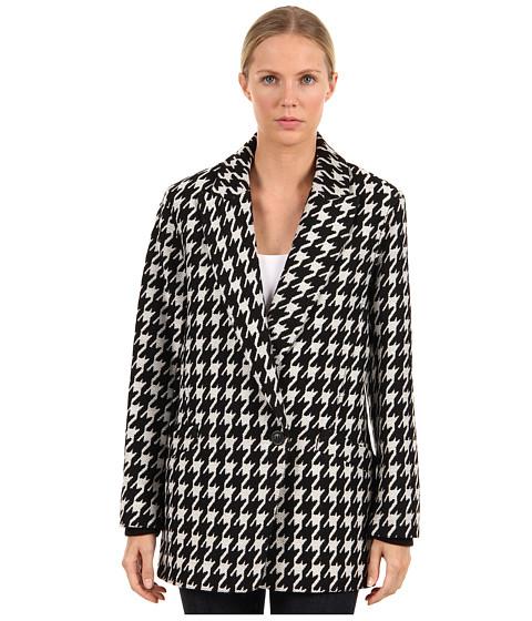 Sacouri Theory - Danvey Coat - Black/White