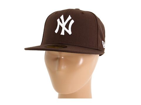 Sepci New Era - 59FIFTYî New York Yankees - Brown/White